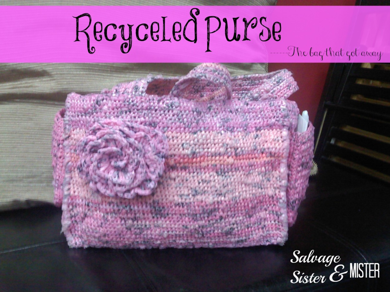 recycled purse 1