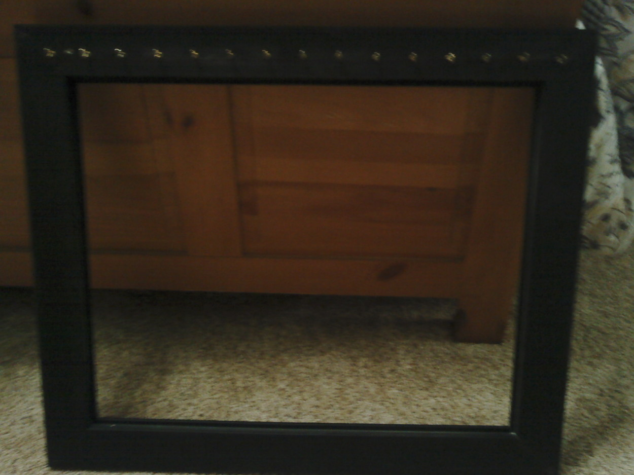 frame with hooks