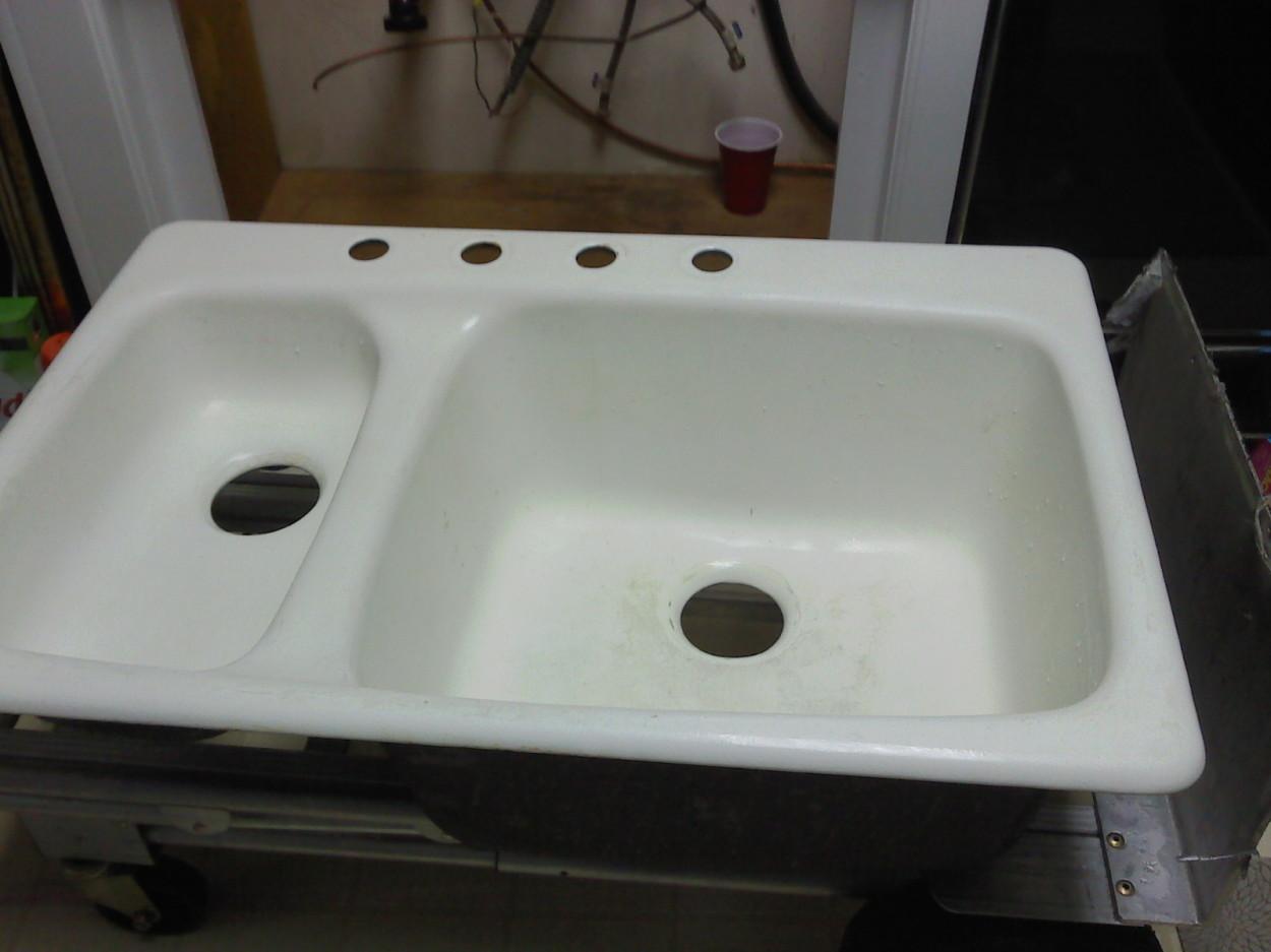 sink not installed