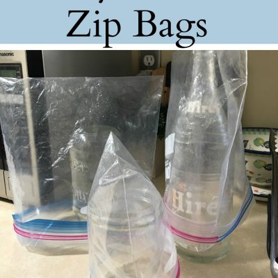 Why I wash zip lock bags. Ways to do it easier and why you may want to consider doing this frugal choice and waste less in the process. Reuse