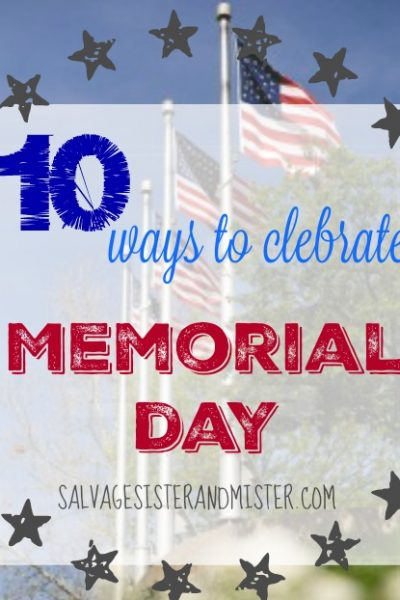 Need some ideas on ways to celebrate the men and women who have given us so much through their service? Try these 10 Memorial Day ideas to help you, friend, and family remember the ultimate sacrifice for our freedom.