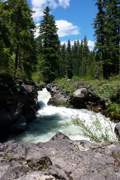 The beauty of Southern Oregon. One of our favorite places to camp is Natural Bridge. It's majestic.