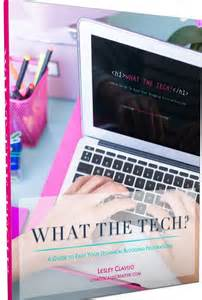 Need help with the tech side of blogging? This is a great resource to help you with every stage of your blog. What the tech ebook is a must for bloggers.