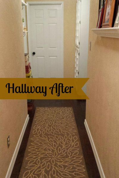 HALLWAY IS DONE!!!!!
