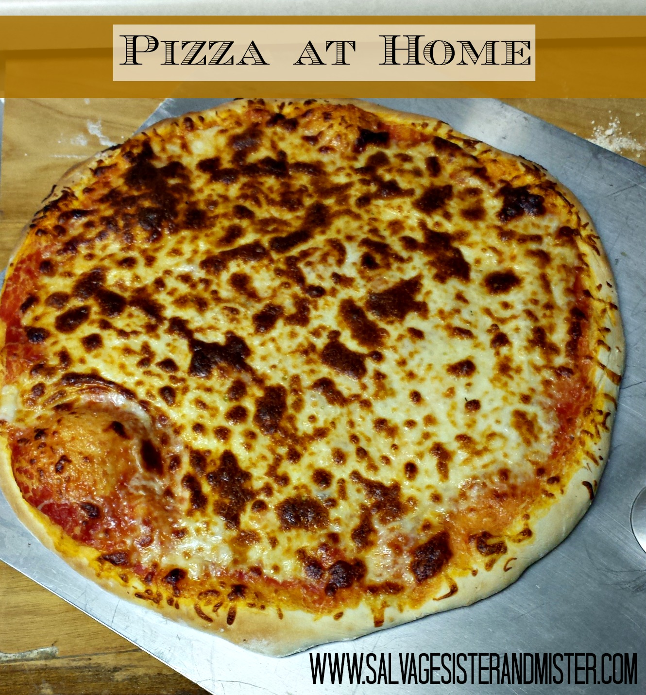 pizza at home 1