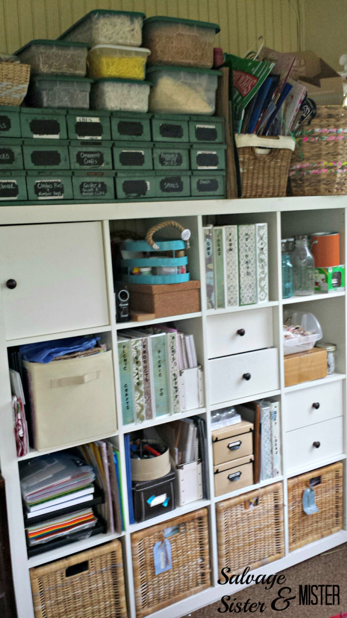 craft room auto parts cabinet