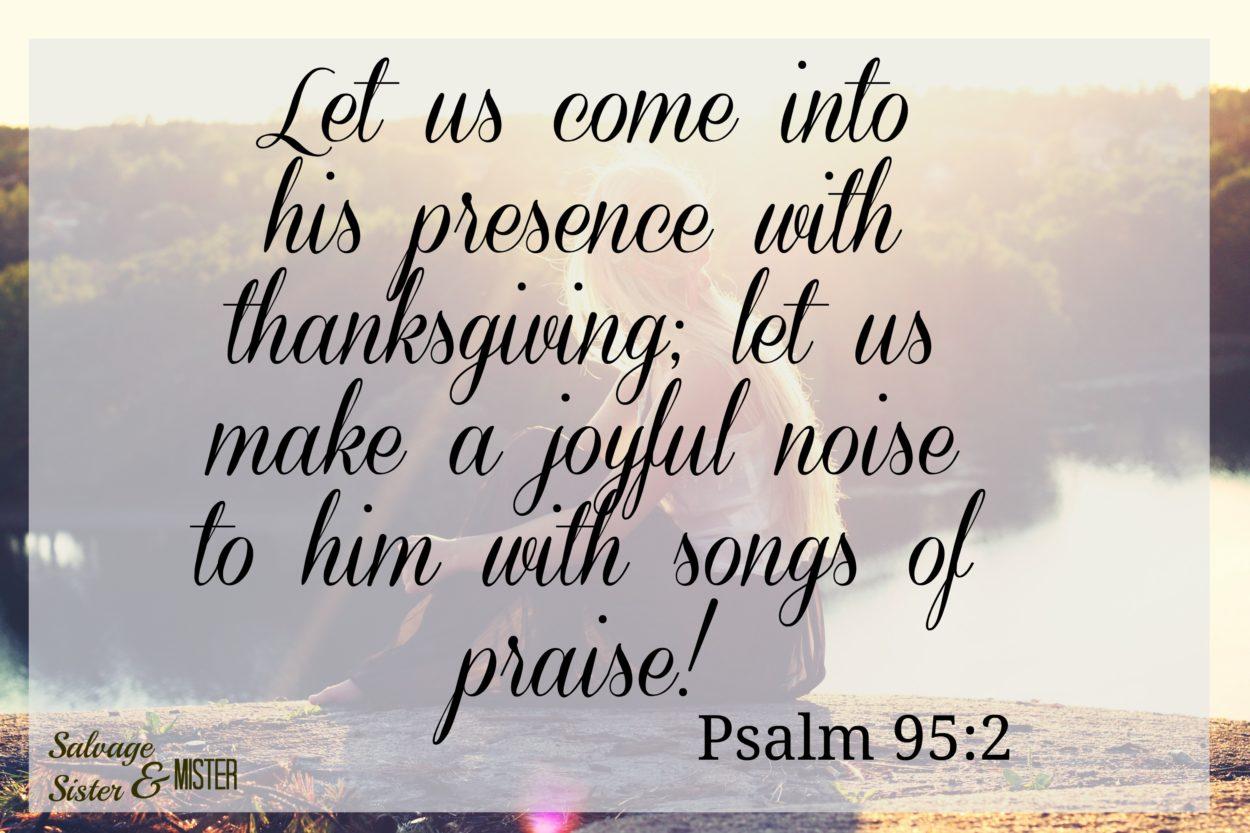 psalm 95 2