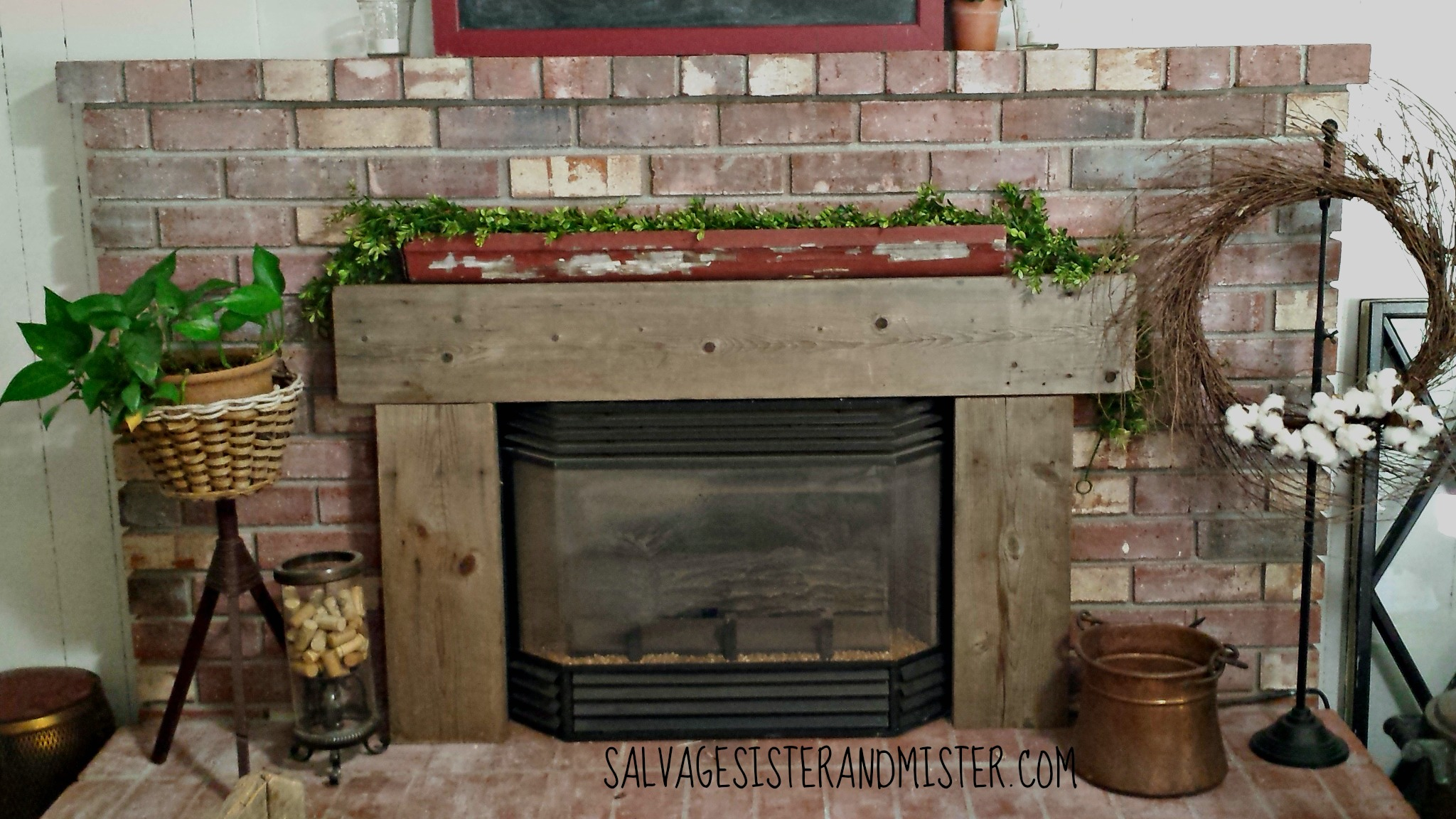 our salvaged wood projects salvage sister and mister