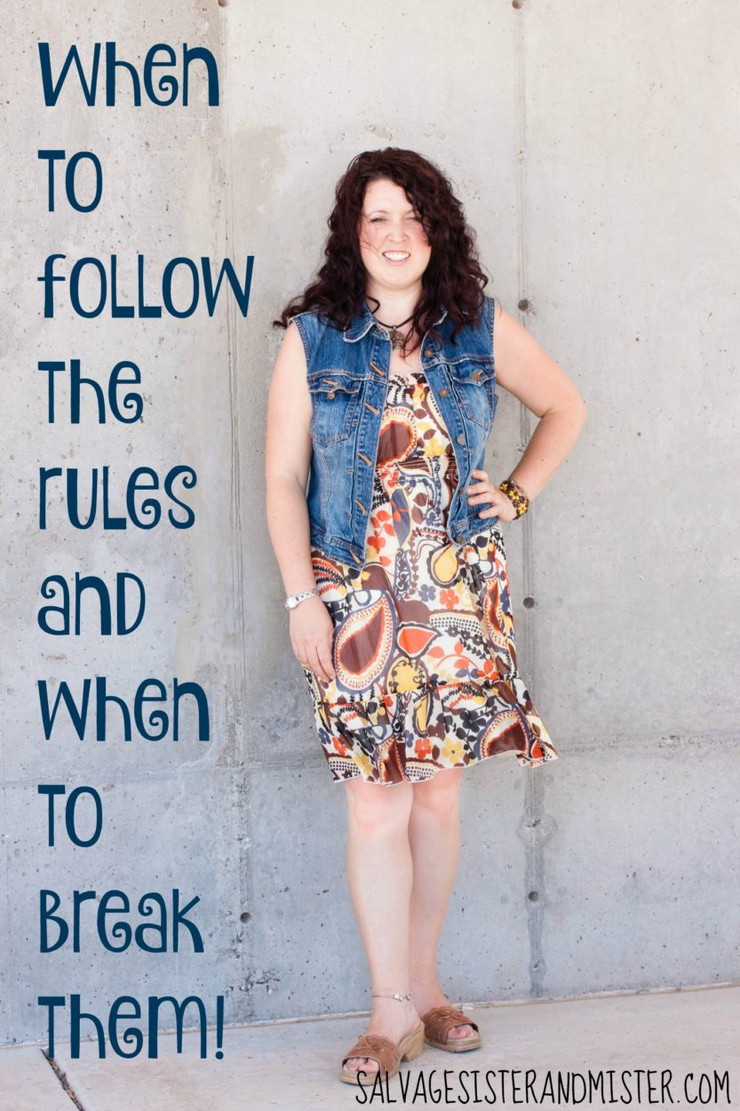 When to follow the rules and when to break them. I'm being a blogger rebel and not following all the rules. Here is the reasons why and why you should question the should's in life. The blogging life. Inspiring you to make the most with whatever it is that you have.