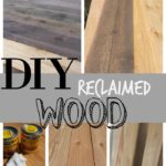 "DIY ""Reclaimed"" Wood"