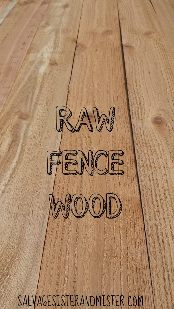 DIY reclaimed wood. This is the raw material we used to make our own reclaimed or salvaged wood.