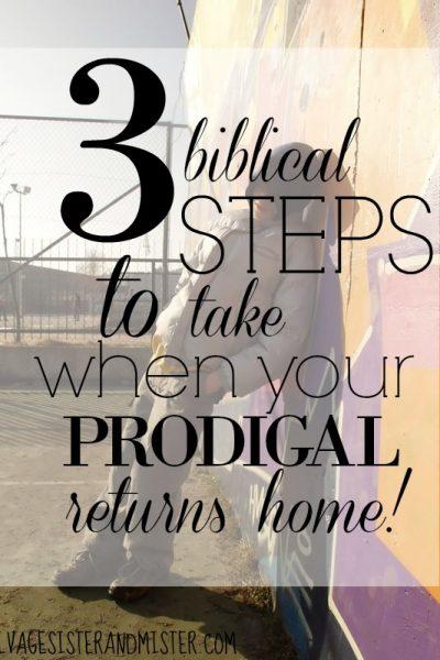 When a Prodigal Returns Home