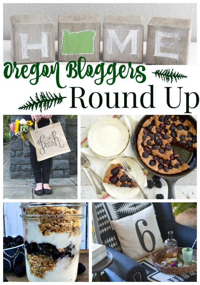 Join some Oregon Bloggers as they share a few treats from this amazing state. Find crafts and recipes all showcasing Oregon. We really love our state and hope you wil too featuring blackberries, wood, flowers, blankets, and more. Come along and see a glimpse of this wonderful place we call home.