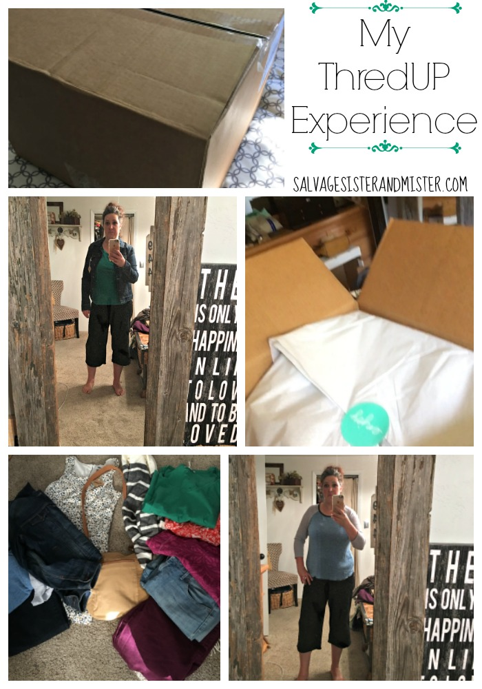 My shopping experience with ThredUP and a clothing comparrison between stitch fix vs thredup. Showing the pros and cons to these online clothing shopping options. Thredup is an online thrift or consignment shop with name brand clothing for a fraction of the cost of retail.