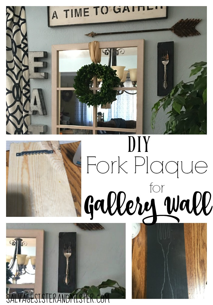 Gallery wall for the dining room wasn't quite right. Took some scrap wood and made what was needed to complete the look. This DIY project cost nothing and was so simple ayone can do it.
