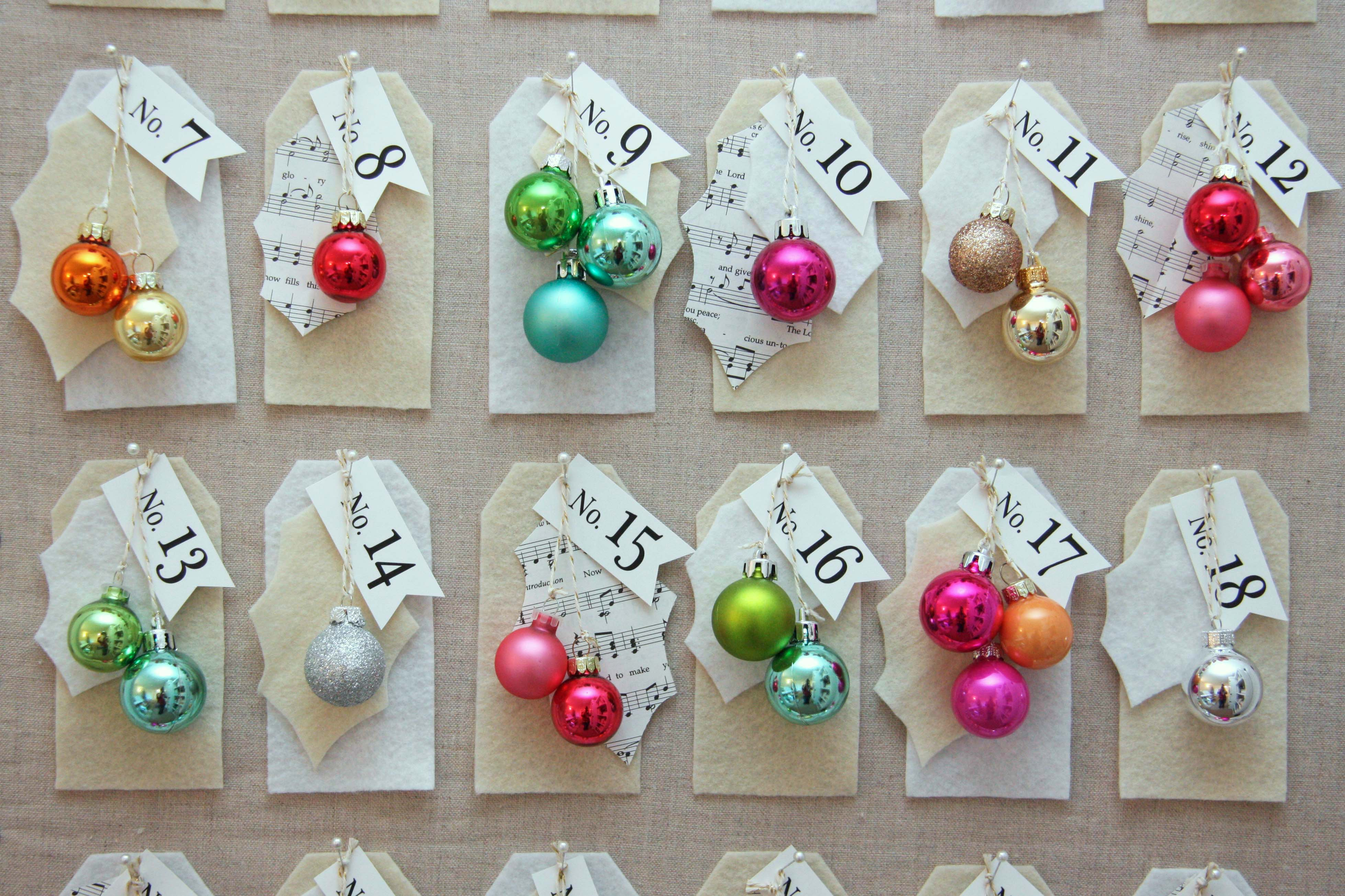 You can make this DIy Christmas countdown board while watching Christmas movies.  This is a fun craft to do with friends.  You can use whatever materials you have on hand to create this fun holiday decor item.  Full tutorial on the blog.