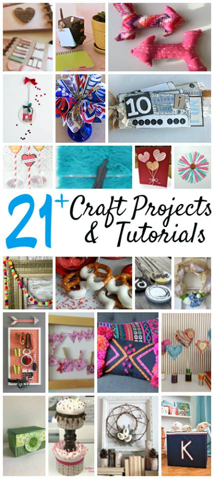 21 bloggers come together to use up items in their craft stash.  Come see the different projects and tutorials.  DIY, Craft, Kids Crafts, Easy Crafts