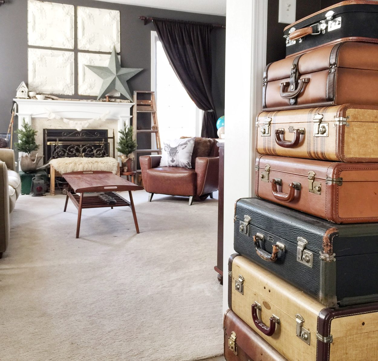 Decorating With Vintage Items Home Tour Salvage Sister