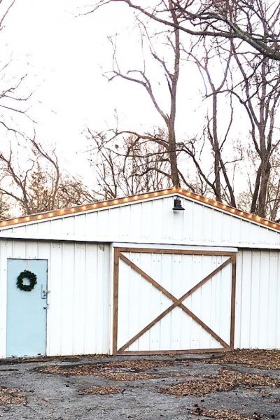 A Shed Makeover – Salvaged Style