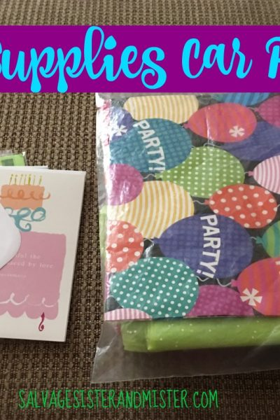 Gift Wrapping Supplies – Car Pack