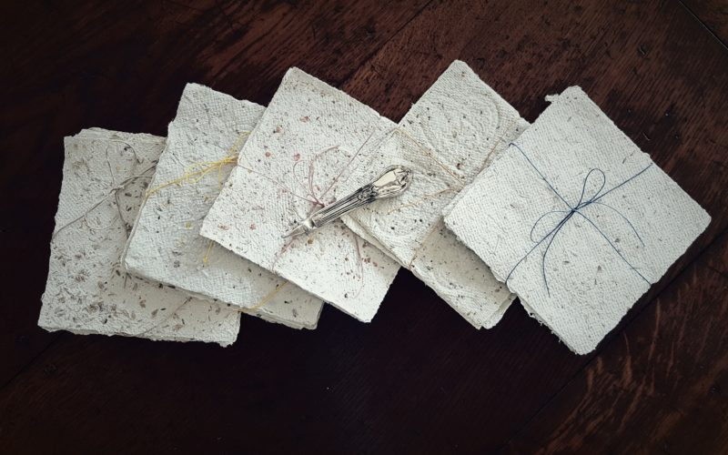 Recycled Paper Making – A Process of Grieving Through Creativity