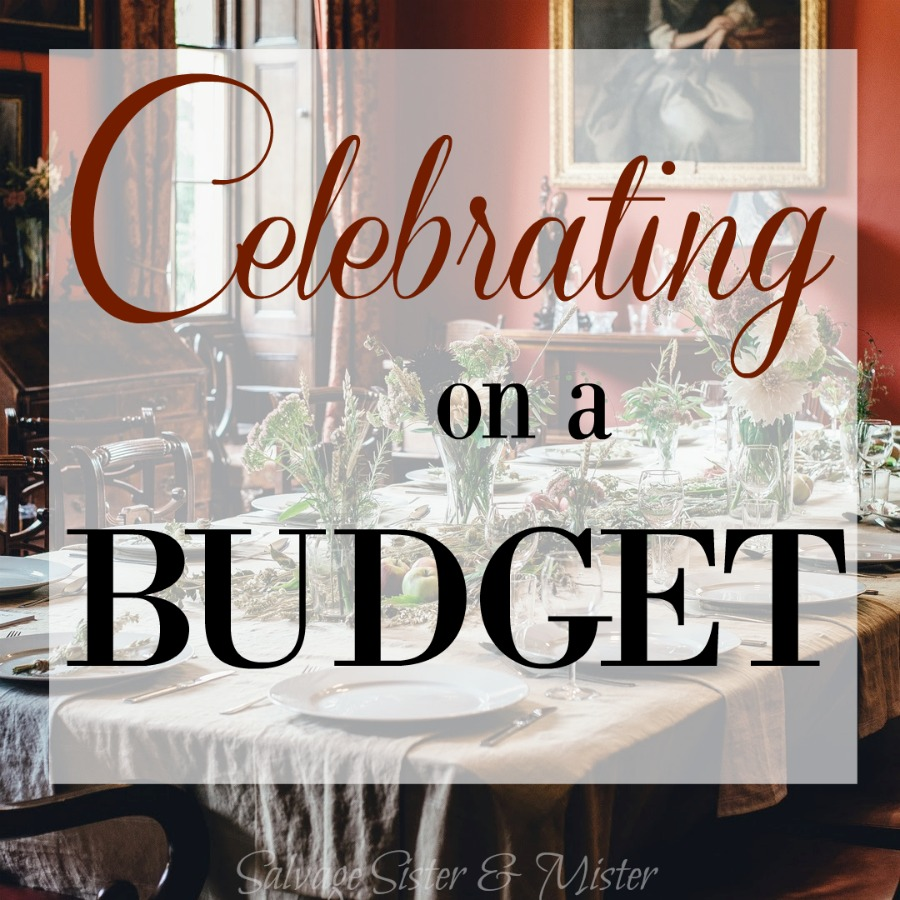 If you are on a budget, how do you celebrate holidays and events? Wiht a little creativity you can have that fun, romantic, or treat night out without having a credit card bill with it. Think outside the box.