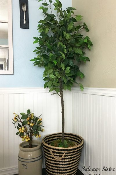 How to Update a Faux Houseplant to Look New