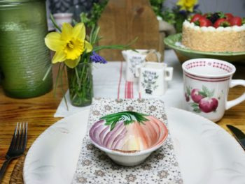 A tablescape doesn't have to be expensive. Find some items around your home to make your table looking beautiful. Shopping your home will be less money to spend, less time on running around, and less stuff to store. Enjoy the life you have.
