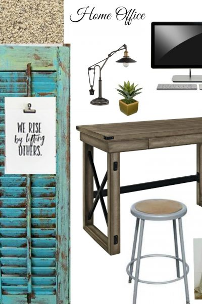 Budget Home Office – Part 2 (One Room Challenge)