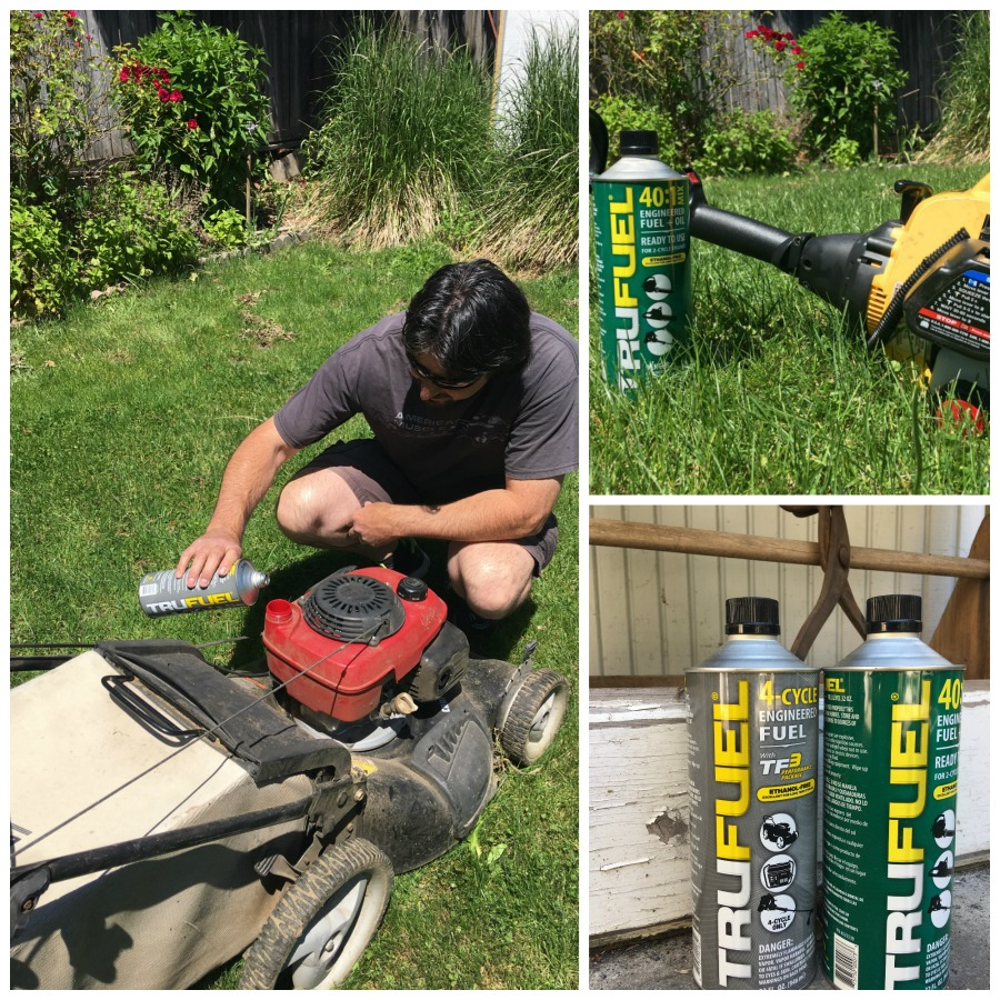 General yard care with TruFuel. Great to store and better for your equipment. TRUFUEL is the original engineered fuel for outdoor power equipment like string trimmers, blowers and chainsaws. It's pre-mixed for convenience and ethanol-free, helping equipment start faster, perform stronger and avoid the problems caused by typical gas station gas. #sponsored