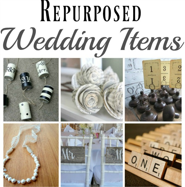 Appropriate Amount To Spend On A Wedding Gift: 17 Repurposed Wedding Ideas