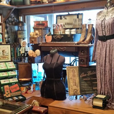 A general store filled with vintage items.