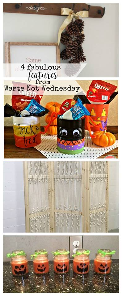 Waste not Wednesday - Blog Link Party. Bloggers can link up their frugal, waste free, green upcycle, repurpose, reuse, etc posts. Be inspired by wonderful diy, recipe, and craft projects.
