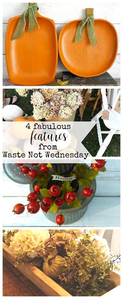Waste not Wednesday linky party.  Add your blog post or be inspired by frugal, reuse, upcycle, thrifty, budget friendy diy, recipes, and craft.