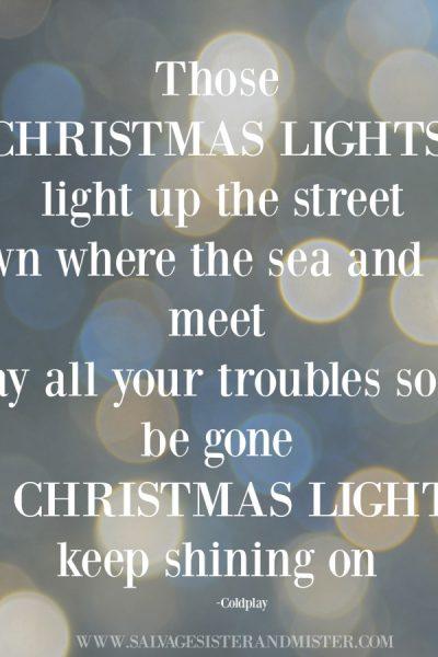 Holiday Lights Award Printable