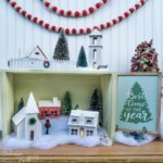 DIY Christmas Village in a Box