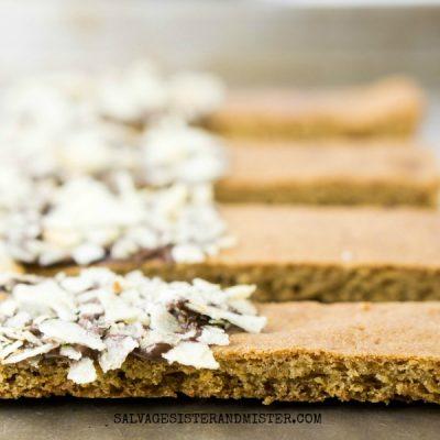 Sweet and Salty Brown Sugar Cookie Dippers