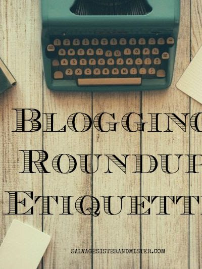 Blogging Roundup Etiquette