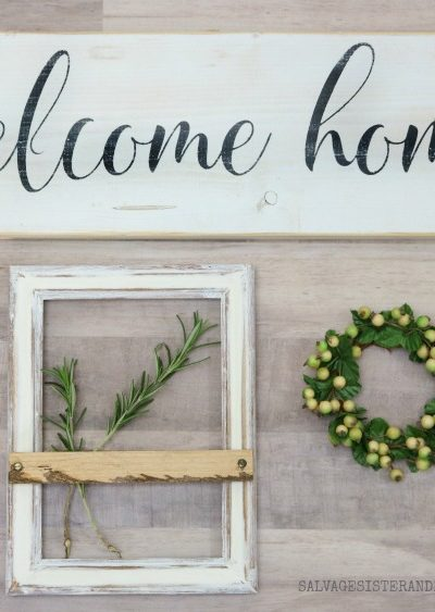 Modern Farmhouse Picture Frame – Thrifted Version