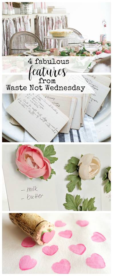Waste Not Wednesday Linky Party