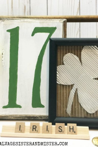 Thrift Store St Patrick's Day Sign – No.17