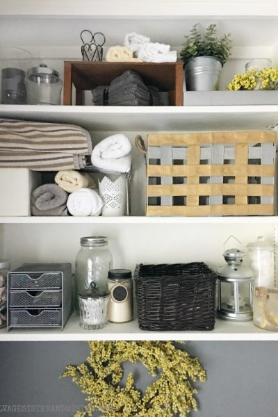 DIY Magnolia Market Inspired Basket Makeover