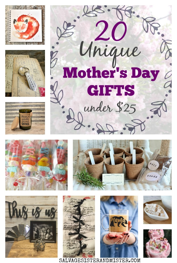 20 Unique Mother's Day Gifts under $25 #mothersdaygifts #mothersday #momsday #uniquegifts