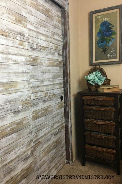ORC – Bargain Sliding Closet Door Makeover