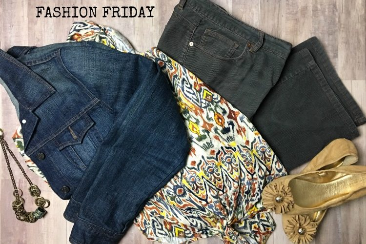 Thrift Store Fashion Friday Outfit
