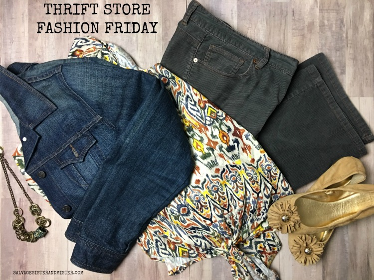 THRIFT STORE FASHION FRIDAY - SALVAGESISTERANDMISTER.COM