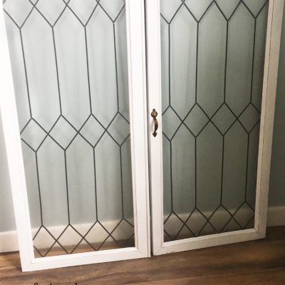 How to Create Faux Leaded Glass Windows
