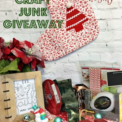 Christmas in July –  Craft Junk Giveaway