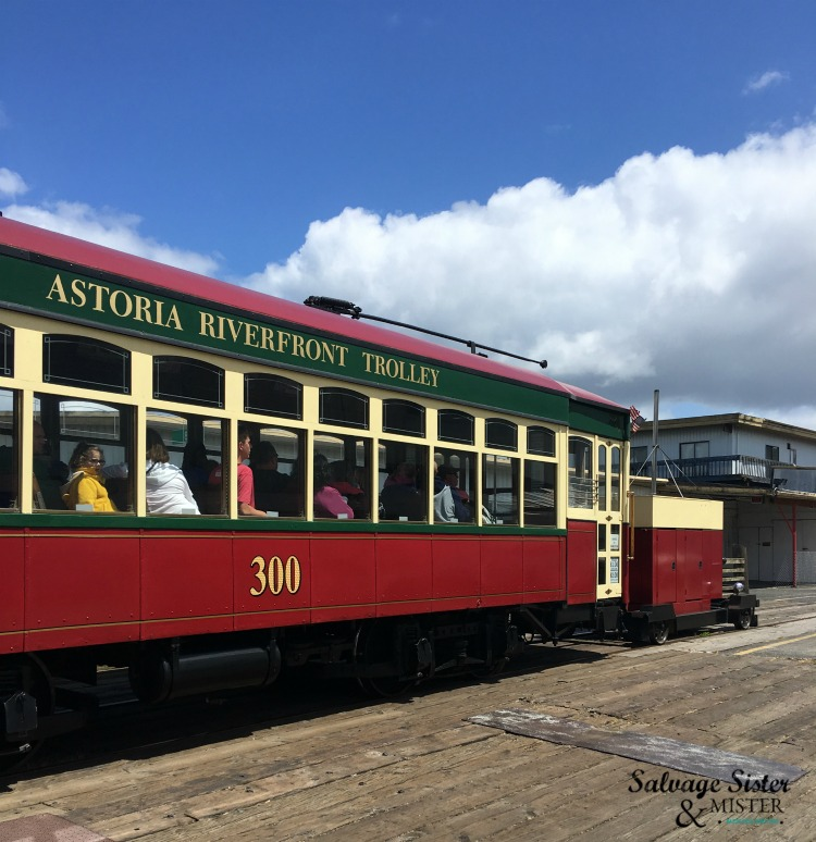 A weekend in Astoria Oregon- The Astoria Trolly more info at www.salvagesisterandmister.com