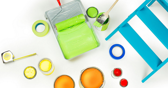 What to do with leftover paint? #recycle #reuse